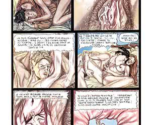 French comics with a dirty secretary in main role