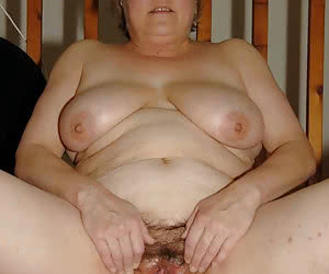 Plump mature wives showing an entrance of their vaginas