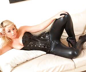 Latex Leggings
