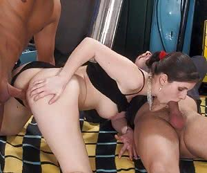 Taking Two Dicks At Once