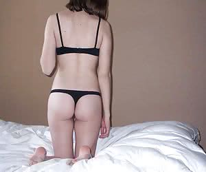 Nice homemade pictures of girlfriends posing in their thongs