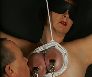 torture my tits electrical breast torture