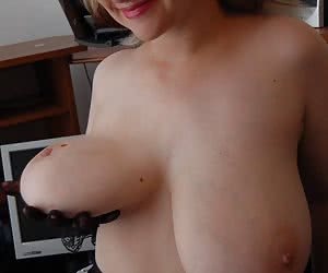Playing With Their Own Tits