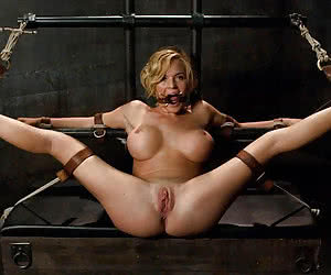 Category: mouth gagged open
