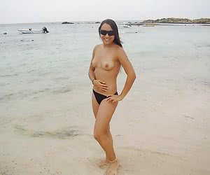 A nude posing at the Orient