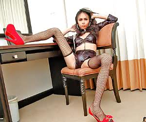Aye aye Captain I bet you never saw a Sea Cadet as hot and horny as this able seamen With shiny black heels which Ill ne