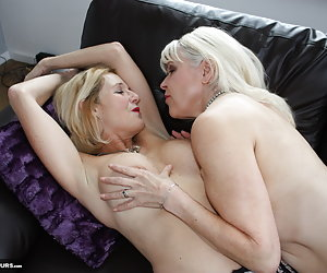 In this shoot you'll see some hot lesbian action as me and my good friend Molly MILF explore eachothers bodies.
