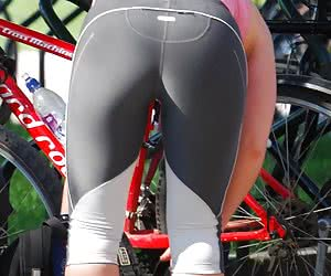 Bicycle + Spandex