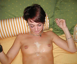 A cum loving amateur babe in this blowjob gallery