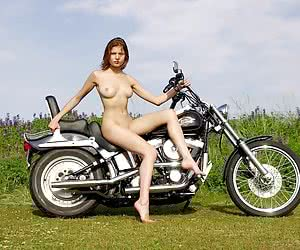 :Naked Bikers and Car Sluts: