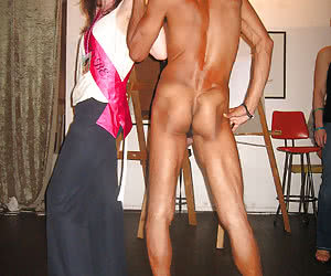 Amateur sluts with strippers cfnm gall