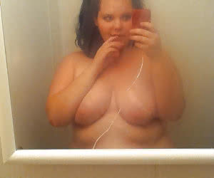 BBWs with not enoungh developed tits, a selfshots