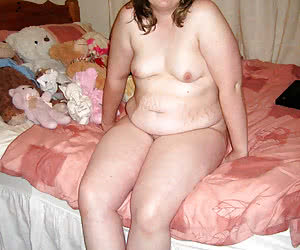 Naive and shy chubby virgins posing nude for 1st time