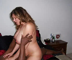 Interracial amateur cuckold sex fantasy coming true the explicit way