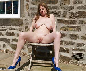 Heres a Photoset of that Hot Model Lily May on the Patio shot by my Good Friend Amateur Spy Guy while we were on Locatio