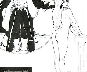 Babe gets a caning in the comics `The Fear Of Flogging`