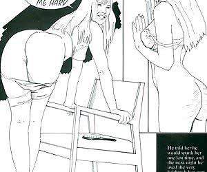 Girl loves spanking in the comics `The Fear Of Flogging`