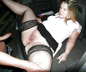 Amateurs having night sex in their cars