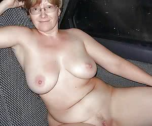 granny with large boobs