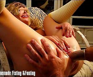 Pumped up pussy of a young silly girl