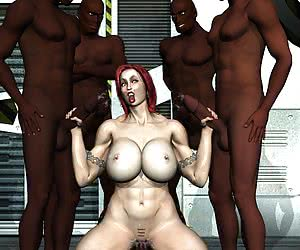 3D interracial free toon gallery