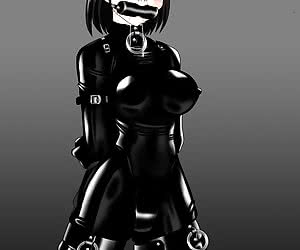 Have fun checking out latex hentai female slaves getting dressed in latex uniforms and punished now!