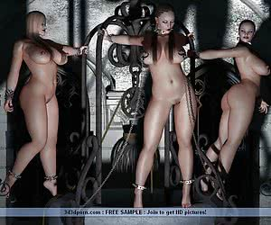 Super hot humiliation and bondage games of lustful lesbians
