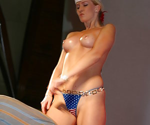 These perfect attractive chicks become too hot during the amazing show that cannot stop it coming to real hot sex!
