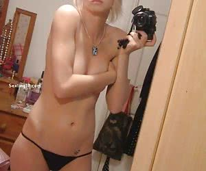 Amateur babe in the gallery of porn photos