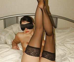 I really like stockings on women's legs and have always asked my young pretty wife to wear them and show off for me a little.