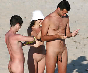 Assorted nasty pictures filmed on various beaches of the world