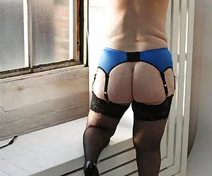 Hope your getting horny with me in these lovely black stockings.
