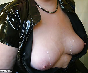 I was asked to do a little cam show with my pvc on, and I thought you would like a bit of toy play as well.