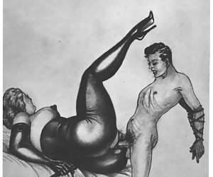 All the hardcore ways to fuck were invented long ago, as these vintage erotic cartoons tell.
