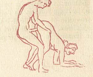 All the ways ancient people imagined a penis are shown in these retro porn drawings.