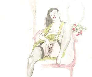 Beautiful drawn porn with lots of poses was drawn for vintage sex cartoons.