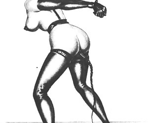 Bondage and fetish were the hottest topics in vintage porn comics.