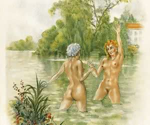 Hardcore vintage sex cartoons make people think that they were born in a good time.