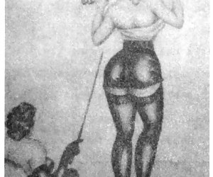Hot and beautiful females seem to rule the game in vintage sex cartoons.