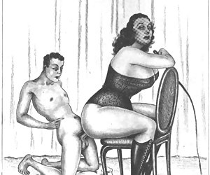 Hot and lusty porn was spread in the past centuries by those vintage adult cartoons.