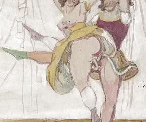Hottest things of your past are brought by vintage porn drawings.