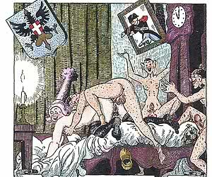 Kinky and perverted sex fulfills these vintage porn cartoons.