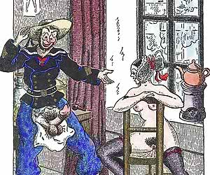 Many wonderful and incredible sex scenes are shown in this old cartoon porn.