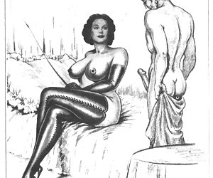 Retro porn drawings often tell us something that we hesitated to ask about the past.
