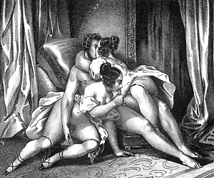 Wild and hardcore sex is shown in superior vintage erotic cartoons.