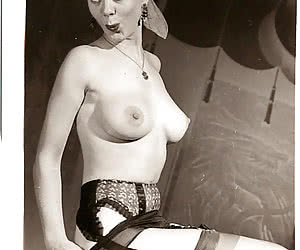 In fits of strongest passion some of these women in vintage lingerie bare booties and juicy breasts