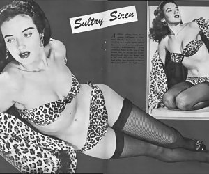 Various hotties pose in neat vintage lingerie and it brings all of them really strong pleasure