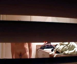 peeping for nude women - real voyeur content
