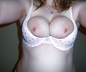 Flash With Bra Showing
