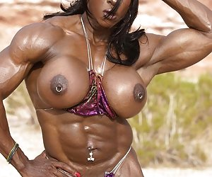 Category: muscle black women